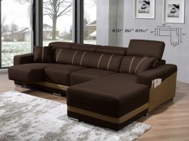 MH808 Stylish & Sturdy 3 Seaters + L Shape Sofa with Stains Removable Water Repellent Fabric