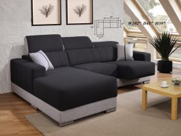 MH862 Modern & Simple 2.5 Seater + L Shape Sofa with Easy Cleanable Fabric